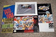 Sonic Blast Man (Super Nintendo SNES) Complete in Box GREAT W/ Inserts