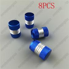 NEW Refit Valve Stems Blue Anodized Aluminum Tire Valve Stem Caps 8PCS