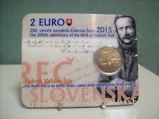 Slowakije 2015 2 euro CC Ludovit Stur BU