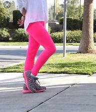 60c713eece171 New Neon Pink Full Length Leggings Fancy Dress Dance Party U.K. 12 CH55