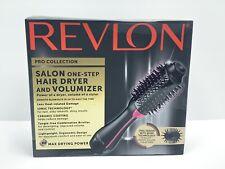 Revlon PRO Collection Salon One Step Hair Dryer and Volumizer Brush Pink Heat