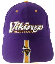 Minnesota Vikings NFL Twins Enterprise Strapback Adjustable Hat Purple Gold