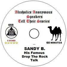 Alcoholics Anonymous AA 12 Step Speaker CD - Sandy B. Drop the Rock