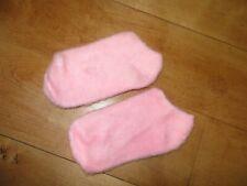 New listing Vintage Pink Fuzzy Bootie Socks