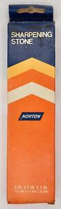 Norton Sharpening Stone Vintage India Combination Oilstone