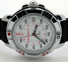 RUSSIAN VOSTOK (# 431171) MILITARY WRIST WATCH KOMANDIRSKIE (BRAND NEW)