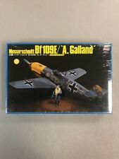 "Hasegawa 1/32 Bf109E/'A.Galland"" Edition with Elite Pilot Figure FACTORY SEALED"
