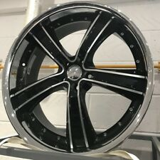 """22"""" black dish alloy wheels for new audi q7 mercedes ml gl bentley with tyres"""