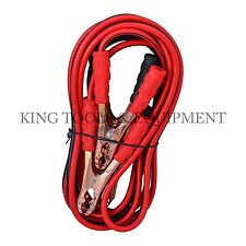 New KING 12 Ft 200AMP Car Battery Jumper Cable, 10 Gauge Emergency Power Booster