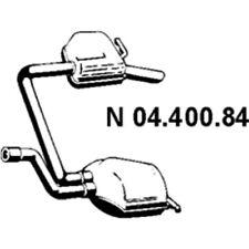 EBERSPÄCHER ENDSCHALLDÄMPFER AUSPUFF FORD MONDEO III TURNIER 04.400.84