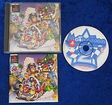 Motor Toon Grand Prix 2, PS1, PlayStation 1 Spiel, OVP und Anleitung