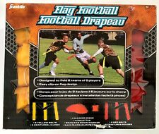Franklin Flag Football Set Kit designed for 2 teams of 5 players each - Adult