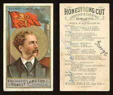 """1887 N127 Duke Sea Captains """"W.H.P. Hains"""" POOR **AA-7759**"""