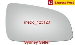 RIGHT DRIVER SIDE HOLDEN ASTRA (AH) 2005 - 2009 MIRROR GLASS ONLY