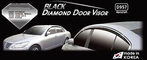 Premium Door Visor Rain Vent Guard Window 4P D957 for Hyundai Genesis 2009~2013