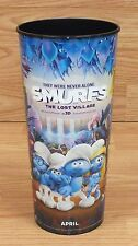 Smurfs - The Lost Village in 3D Movie Promotion Souvenir 44oz Cup Without Lid!