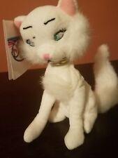 """New Disney Store Beanie Plush_7"""" Duchess_Aristocats_Cat Stuffed Animal"""
