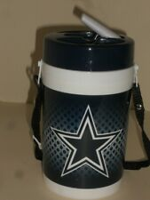 New Dallas Cowboys NFL Football Plastic 1 Liter Water Bottle With Carrying Strap
