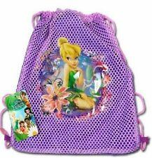 Drawstring Bag - Disney Fairies Tinkerbell Purple Drawstring Bag