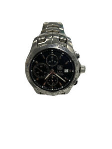 TAG HEUER LINK CHRONOGRAPH CALIBRE 16 CJF2110 - USED