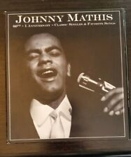 JOHNNY MATHIS 60th + 1 Anniversary Classic Singles & Favorite Songs, 4-CD SET!!!