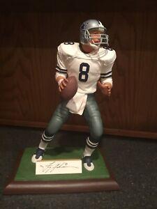 Gartlan autographed figurine limited Edition Troy Aikman