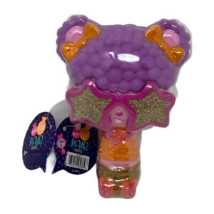 Pop Pop Hair Surprise 3-in-1 Pop Pets with Long Brushable Hair, Boogie Purple