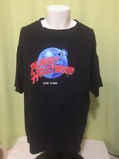 Planet Hollywood New York Men's Black T Shirt Size XL Made in USA