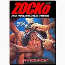Zocko 5 inmortalidad 2. parte: casinella-horror comic Science Fiction chacó