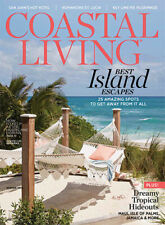 ❤COASTAL LIVING Special Edition ISLANDS ISSUE Southern Country WINTER 2019/2020