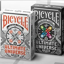 Ultimate Universe Colored & Grayscale Deck Set Bicycle Playing Cards USPCC Poker