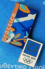 ATHENS 2004. OLYMPIC GAMES. OLYMPIC PIN. EMBLEM OF THE GAMES. PRACTICE