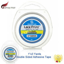 """1"""" x 3Yards Walker Lace Front Hair System Tape 108"""" Double Sided Blue Liner Tape"""