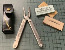 Leatherman Pst The Original Tool New In Box with leather sheath