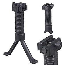 "Tactical RIS Fore Grip Bipod Pod Picattinny Weaver Rail Foregrip 6.25""-8.75"""