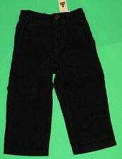 2t Nwt Gap Holiday Black Corduroy Pants Boys