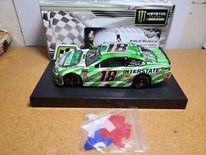 2018 Kyle Busch #18 Interstate Batteries Texas Win JGR 1:24 NASCAR Action MIB