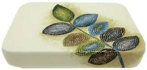 Croscill Mosaic Leaves Soapdish Soap Dish