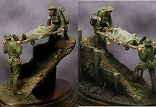 BENEITO WW1 British lettiga SUPPORTI BOLLINO 54 mm modello KIT non verniciata