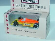 MATCHBOX COLLECTOR'S CHOICE NO.13 GRAND PRIX RACING CAR