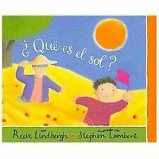 Que es el sol? / What is the Sun?-ExLibrary
