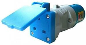 Site Plug Socket Adaptor 16 to 13 Amp Converter UK Plug Caravan Building
