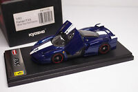 KYOSHO FERRARI FXX BLUE TOUR DE FRANCE 1:43
