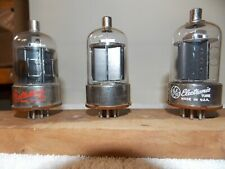 3 RCA and General Electric 6146 vacuum tubes tested and guaranteed