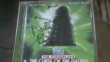 Doctor Who - Curse of the Daleks  2 Disc CD SIGNED AUTOGRAPH  Nicholas Briggs