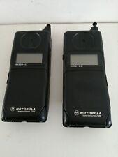 Motorola International 7500 +7200 micro tac vintage phone brick phone