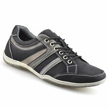 Mens Sneakers Casual Smart Lace Up Walking Running Trainers Driving Shoes Size