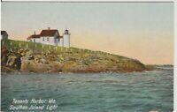 "TENANTS HARBOR MAINE ME ""SOUTHERN ISLAND LIGHT"" Vintage Postcard"