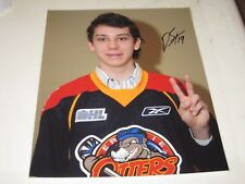 Dylan Strome Autographed Errie Otters 8X10 Photo # J1