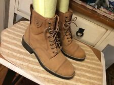 Ariat Style 59226 Women's Size 6.5 Tan Suede Lace Up Ankle Boots,